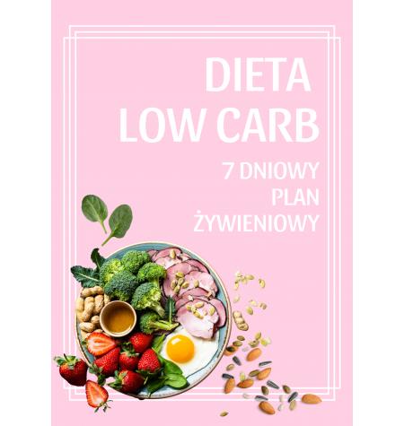 DIETA LOW CARB – 7 dniowy plan żywieniowy